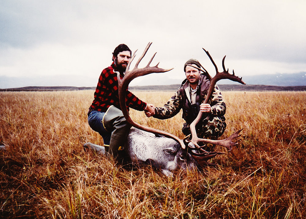 Me with Steve Vaughn, my client from GA, and his 396 B&C taken when I was guiding for Rich Guthrie in '83.