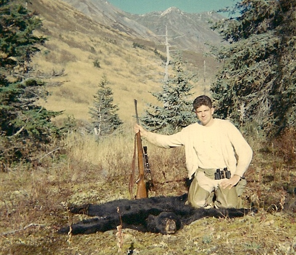 My first black bear taken September '67.