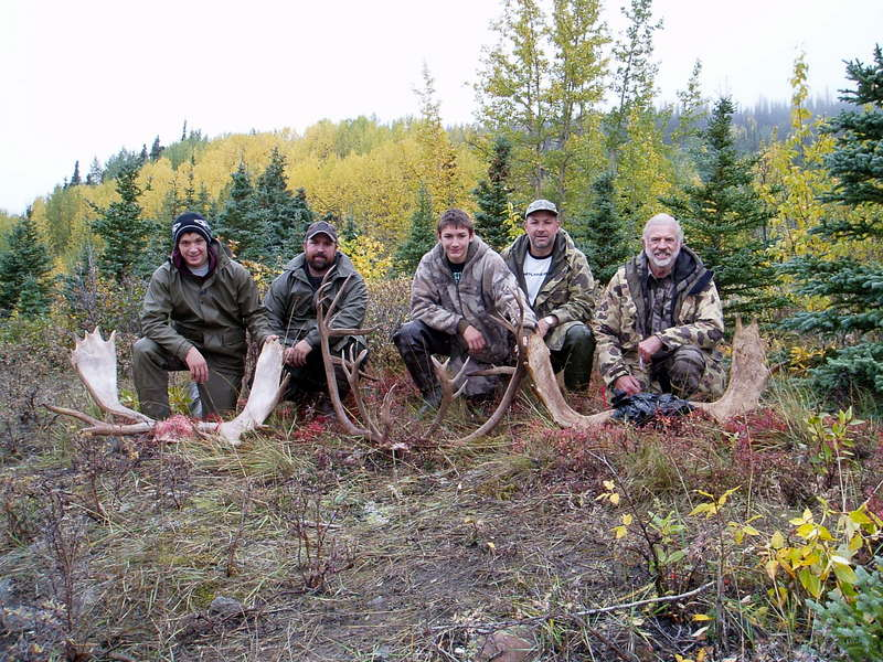 Final picture of a successful hunt.  It doesn't get any better than this.  Great memories!!