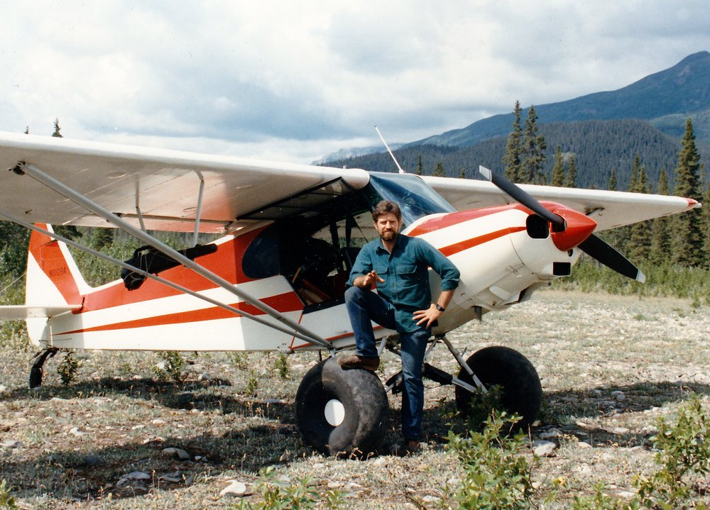 "This was the last picture I have of AAA's first ""super cub"" 1109A.  It was taken about two weeks before my tragic accident."