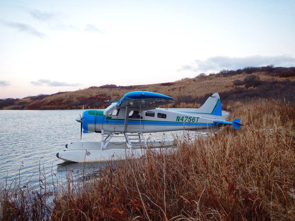 Rolan and the Sea Hawk Air Beaver.