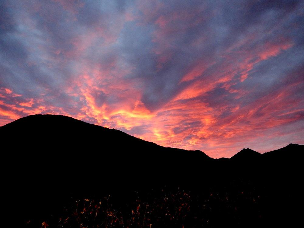 A beautiful Kodiak sunset.