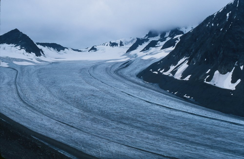The glacier that we used to travel on.