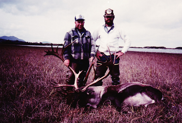 Ted Epley from ID with his 390 point B&C caribou.