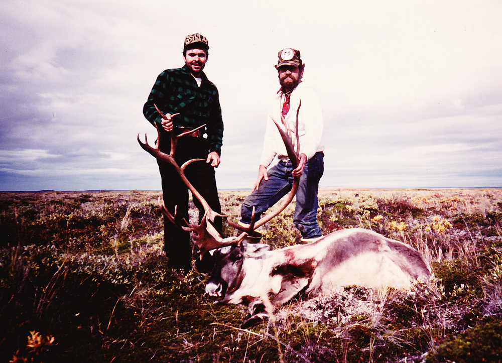 Carroll Lilly from TX with another nice caribou.