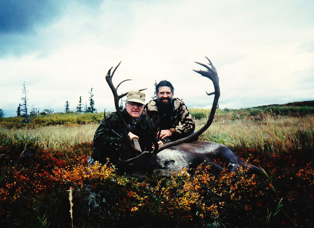 My pastor, Walter Davidson from Anchorage, with his 370 B&C trophy caribou.