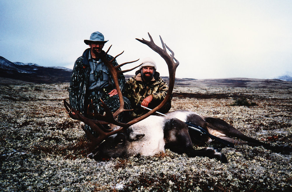 Rich Portis from NC with his 404 B&C Record Book caribou.