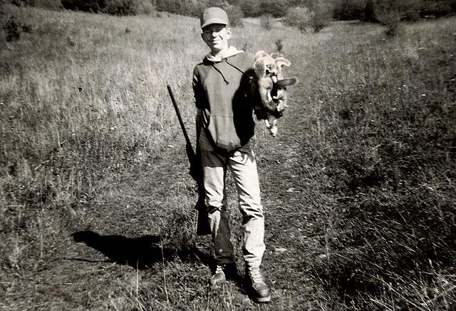 Twelve year old West Virginia squirrel hunter.