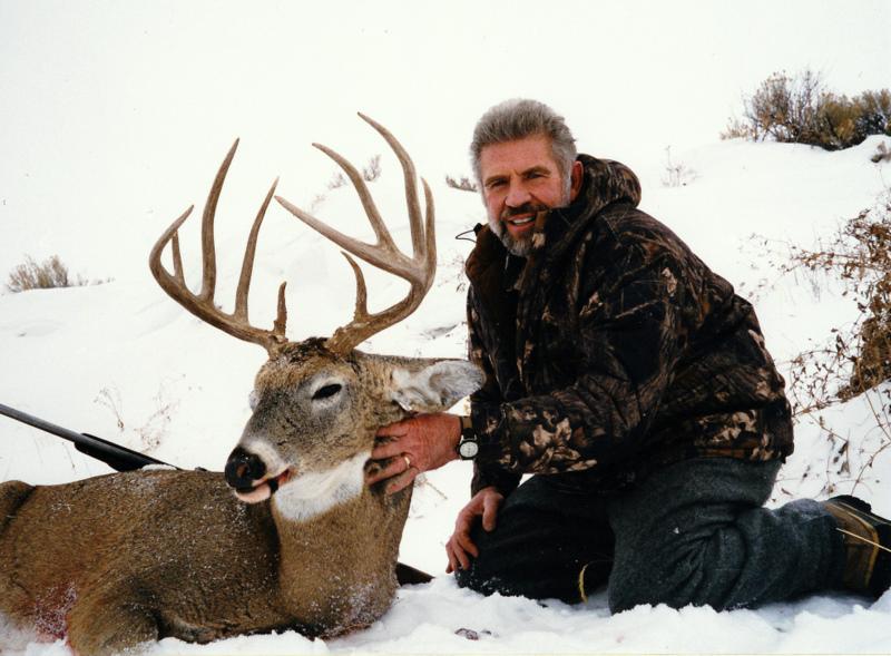 My first whitetail deer taken in Wyoming. A 151 B&C ten pointer.