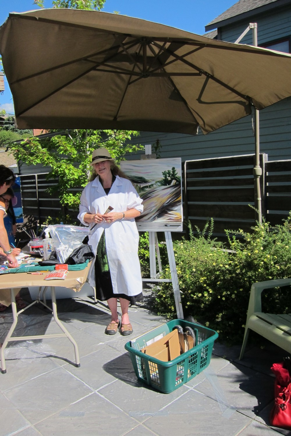 Art Demo Days,  Summer 2014 <br>  Effusion Art Gallery, Invermere, BC