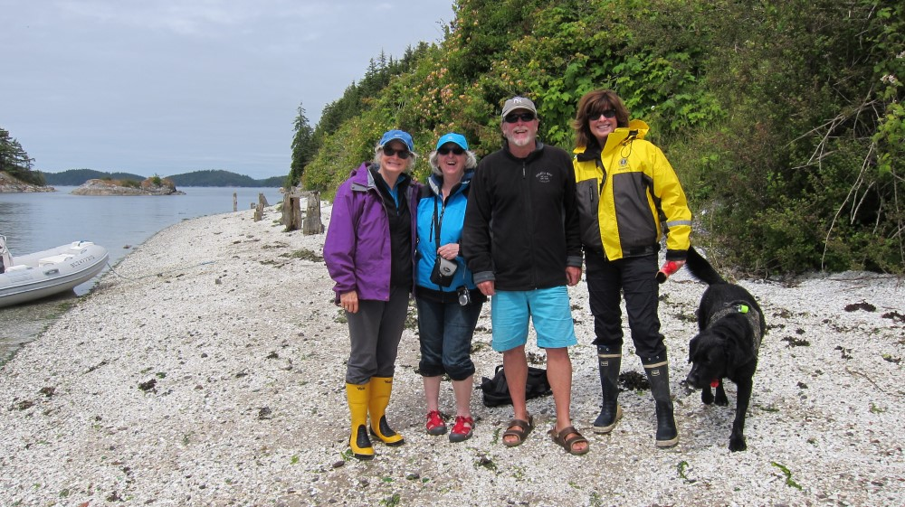 Boat Trip to Broughton Archipelago June 2015