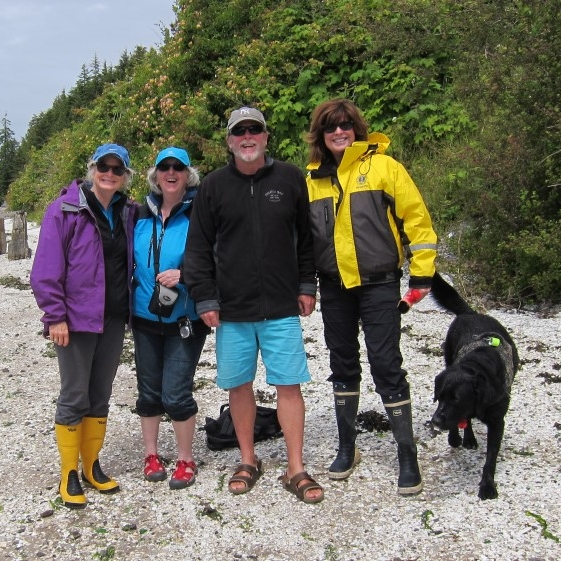 Boat Trip to Broughton Archipelago &nbsp &nbsp June 2015 <br>(with Patti Yager, Bruce & Brenda Maclean and Captain)