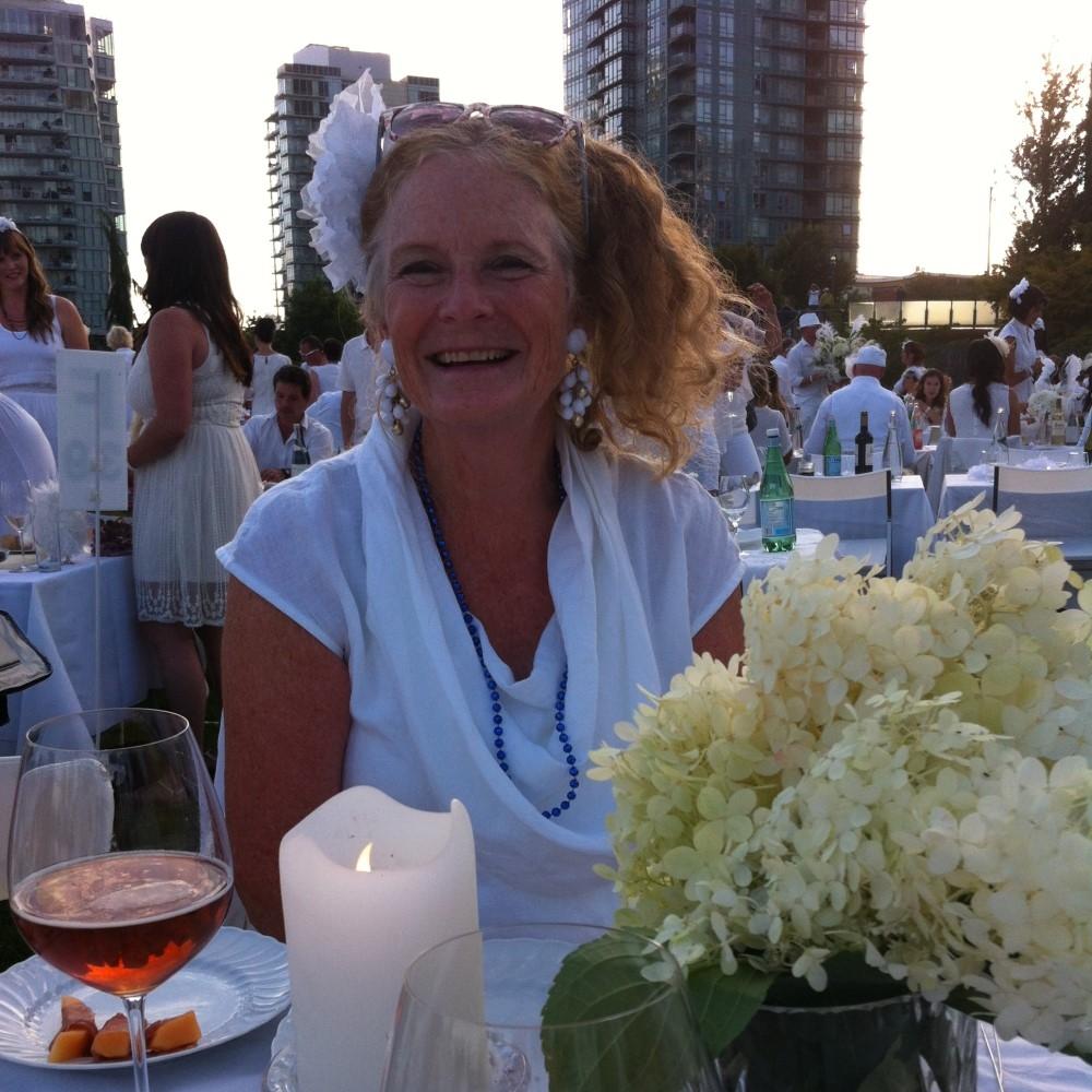 Diner en Blanc  &nbsp &nbsp August 2014 <br>David Lam Park, Vancouver, BC