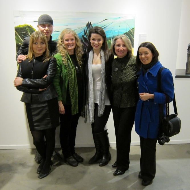 Failte Abhaile (Welcome Home)  &nbsp &nbsp March 2012 <br> Artworks Gallery, Vancouver, BC (with Deanna Geisheimer and ArtsWorks Staff)