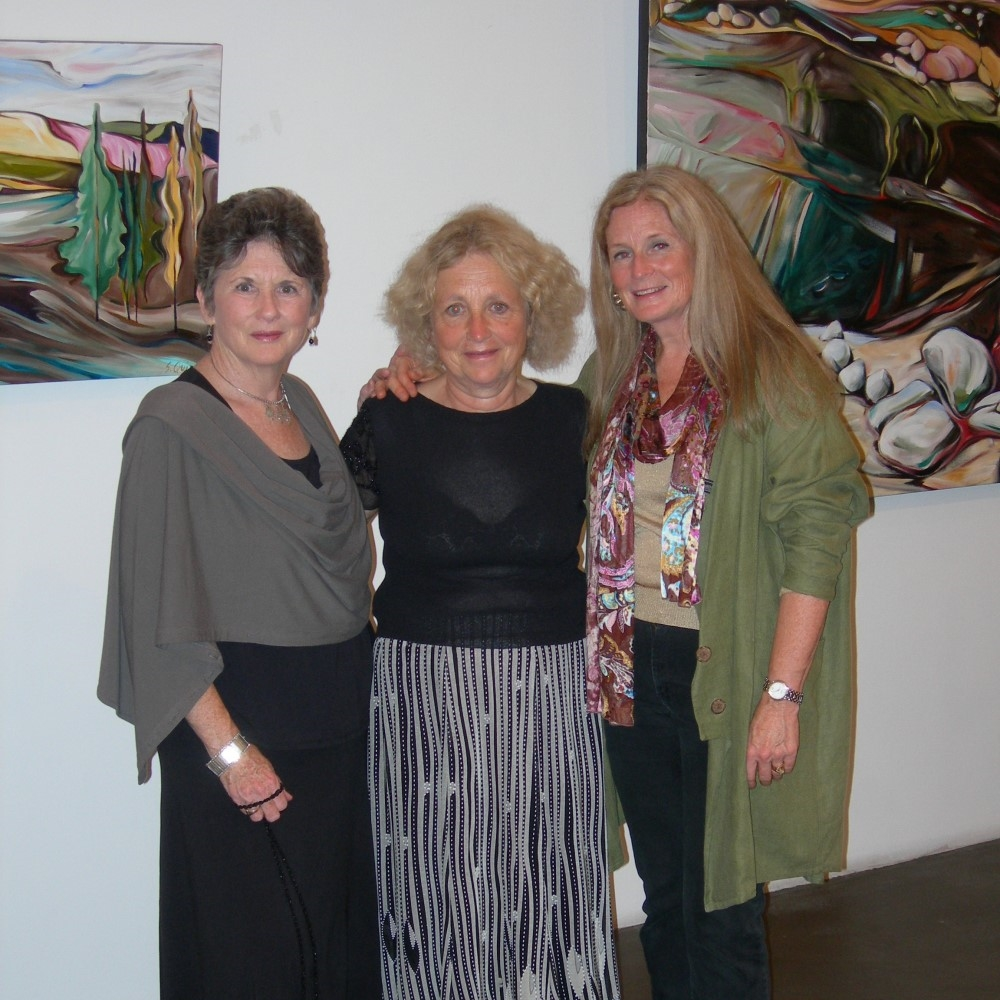 From the Dust &nbsp &nbsp September 2010<br> Icosahedron Gallery, Chelsea District NYC (with Penny Ford and Nancy Zipursky)