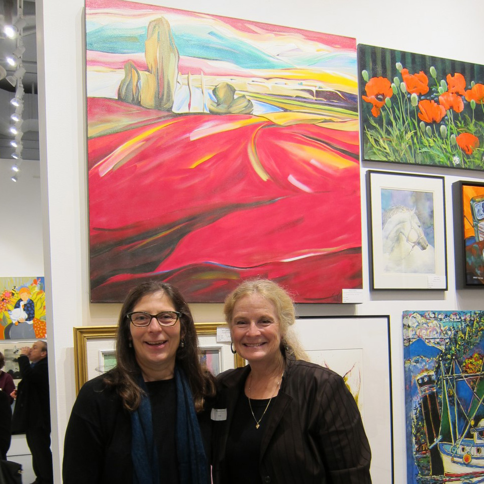 Art Rental Show &nbsp &nbsp November 2014 <br> Lakeview Road View <br> Cityscape Gallery, North Vancouver, BC