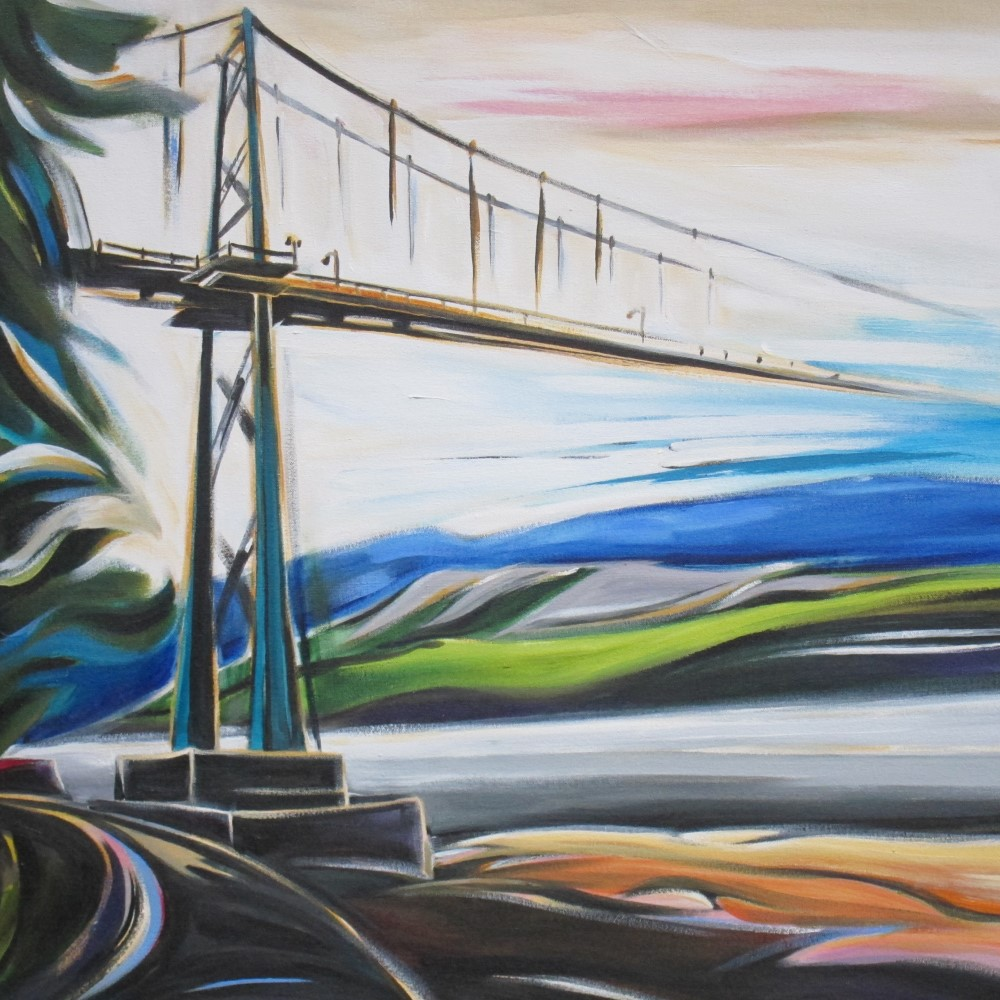 Cityscapes - Lions Gate Bridge  26 X 26  AVAILABLE (1000 x 1000).jpg
