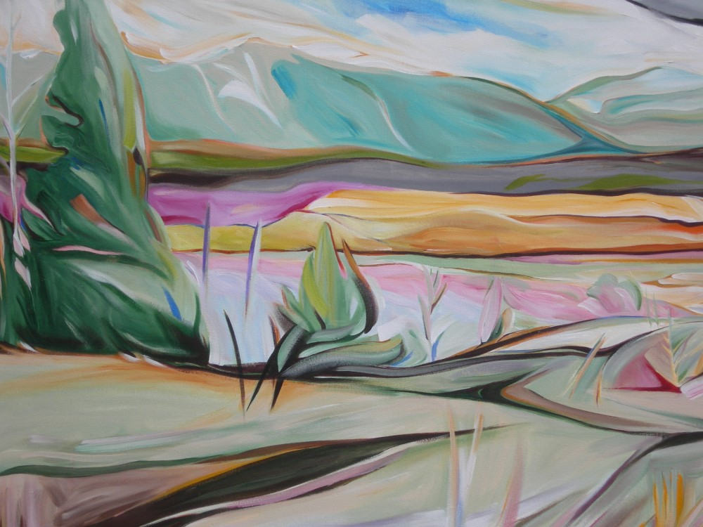 East of Eden 2011 -   Breeze in Lake Country #2 (Panorama Series)  36 X 48  AVAILABLE (1000 x 750).jpg