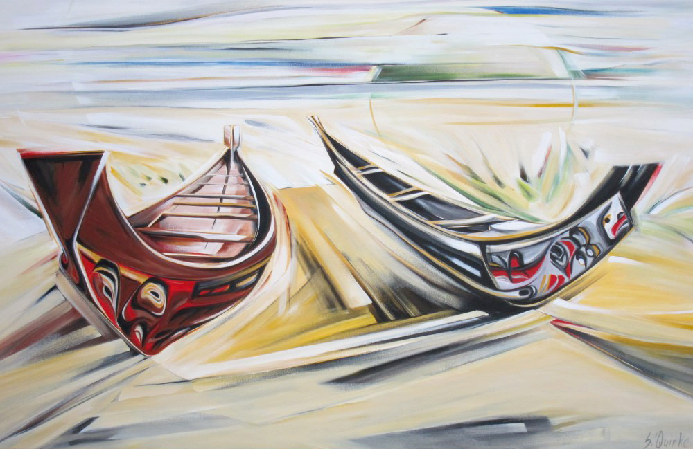 Wooden Boat 2013 - 5 - Loo Taas - Wave Eater (WBS #14) 40 X 60  SOLD (1000 x 667).jpg