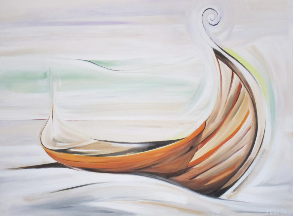 Wooden Boat 2013 - 6 - Maiden Oak (WBS #9) 36 X 48  AVAILABLE (1000 x 750).jpg