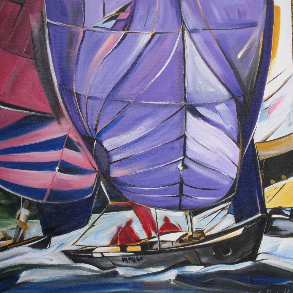 Sail 2015 - Get There Together (Sail Series #9)  30 X 30  AVAILABLE (1000 x 1000).jpg
