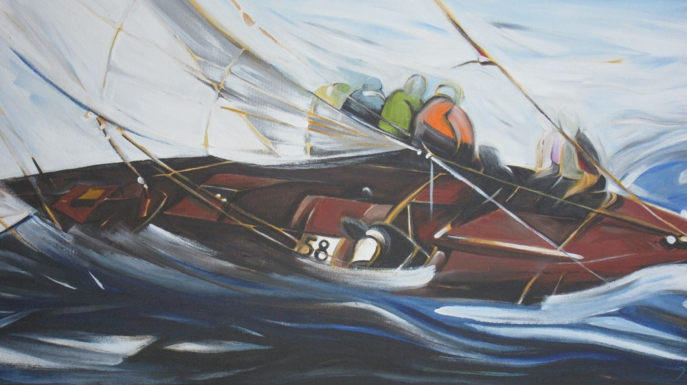Sail 2015 - Heading Into the Breeze (Sail Series #7)  18 X 36  AVAILABLE (1000 x 561).jpg
