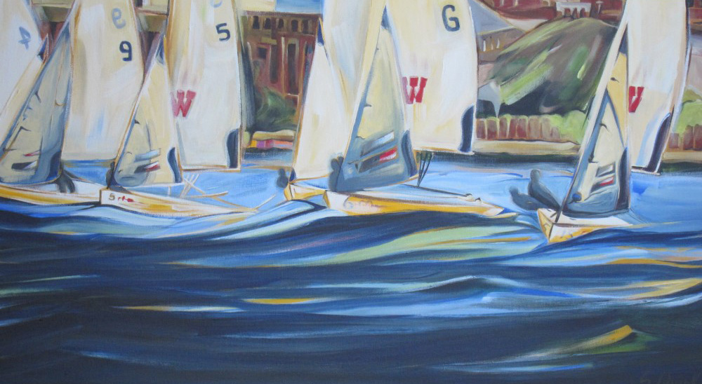 Sail 2015 - Start Line (Sail Series #6)  18 X 36  AVAILABLE (1000 x 561).jpg