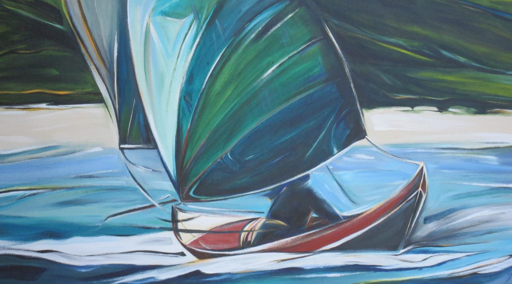 Sail 2015 - Storm Petrel (Sail Series #8)  18 X 36  AVAILABLE (1000 x 561).jpg