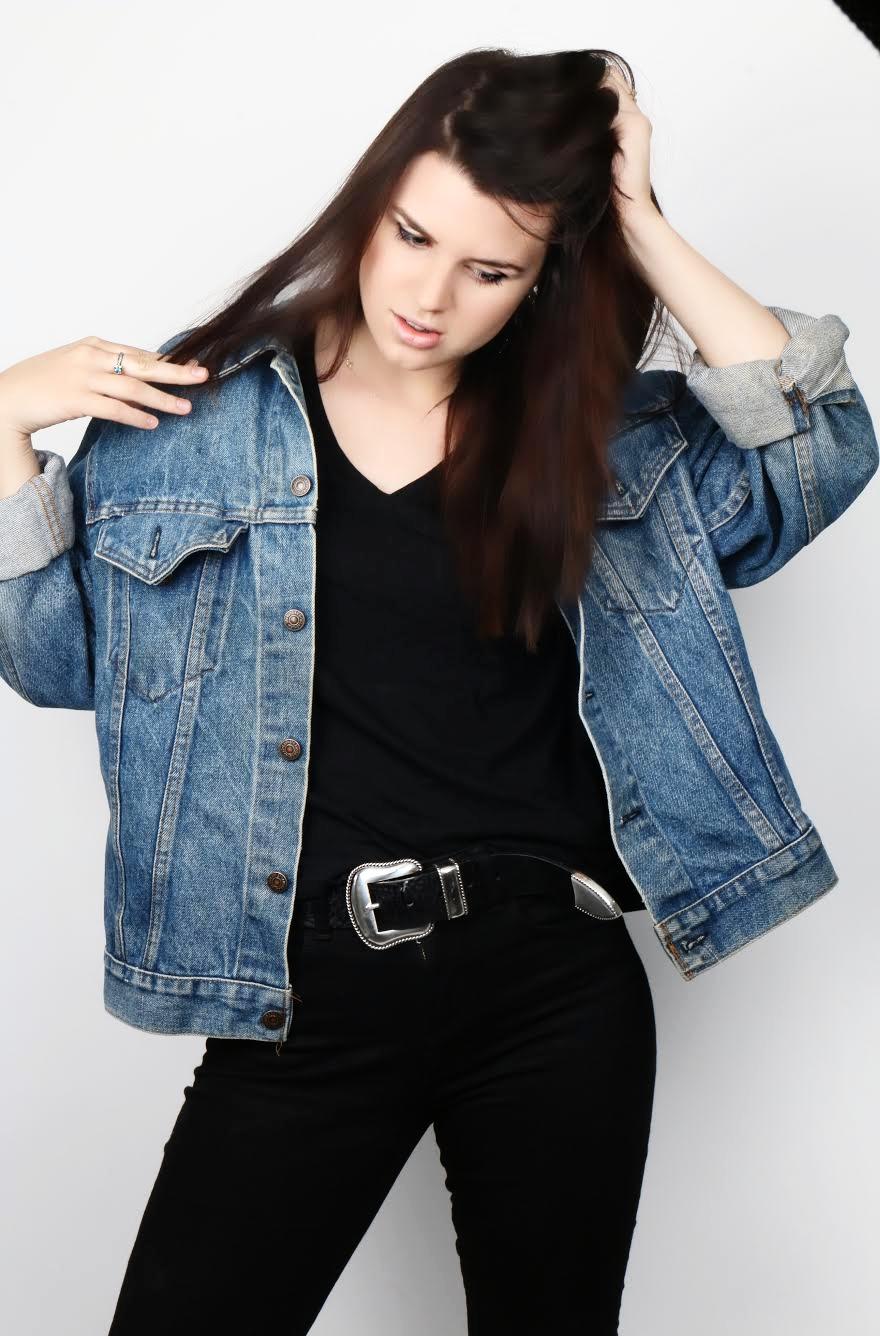Cora Lanell Jean Jacket