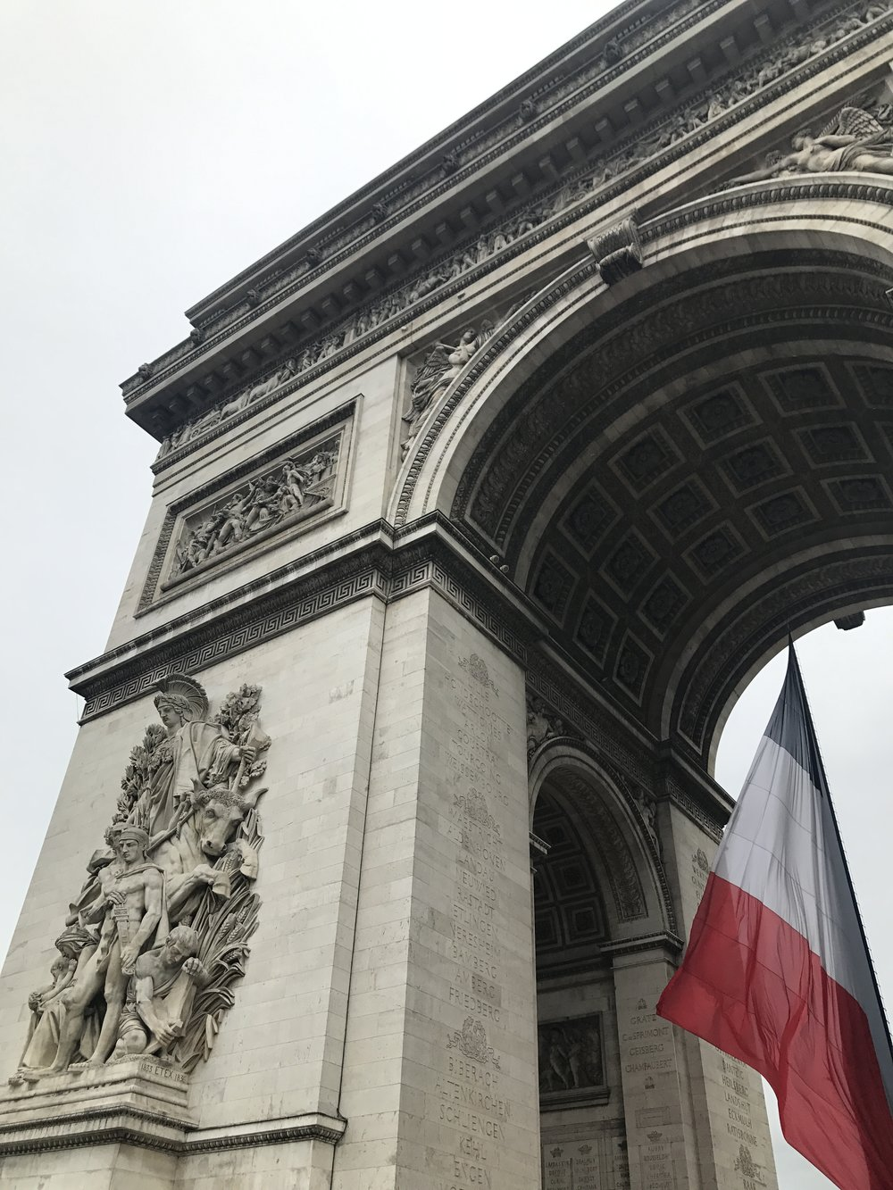Arc de triomphem, Paris