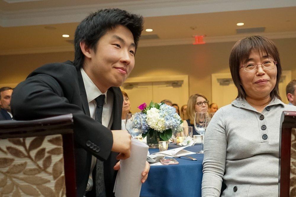 David, SHS Senior '19 & His Mom