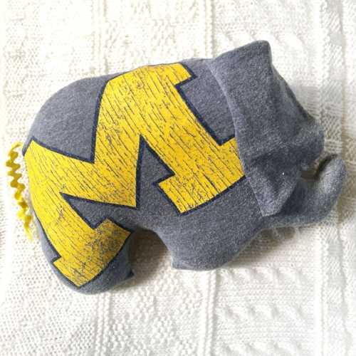 Upcycled Stuffed Elephant from Time and Again