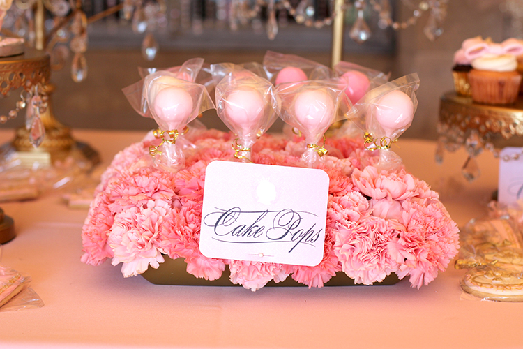 Cake Pops dessert tag created by Kitty Meow.