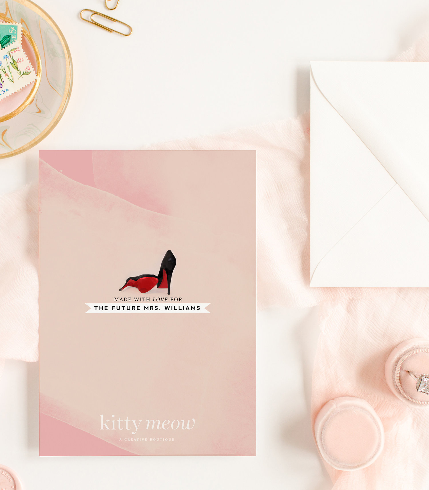 red bottoms las vegas bachelorette party weekend invitation for bride to be