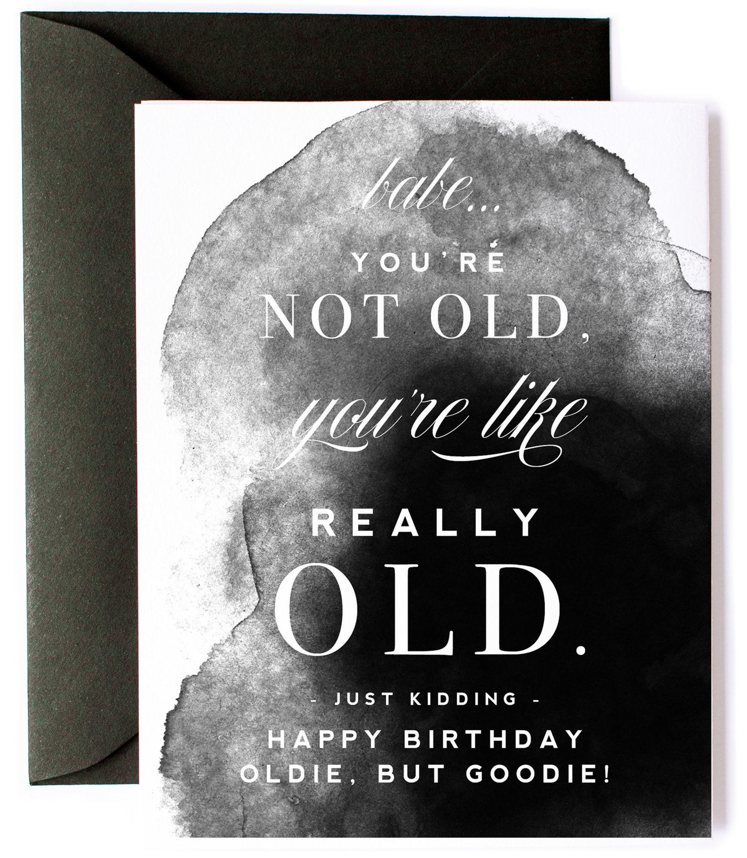 Youre Really Old Funny Birthday Card