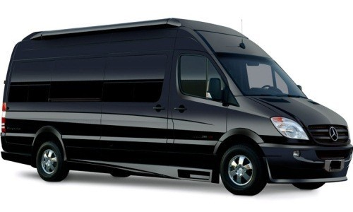 Luxury Van for more space when you are in a group. Capacity to accommodate up to 16 people.