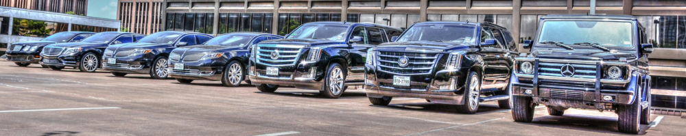Executive Corporate transportation services Houston
