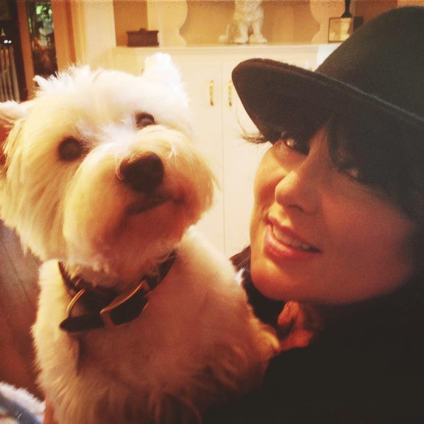 ann wilson and her dog george