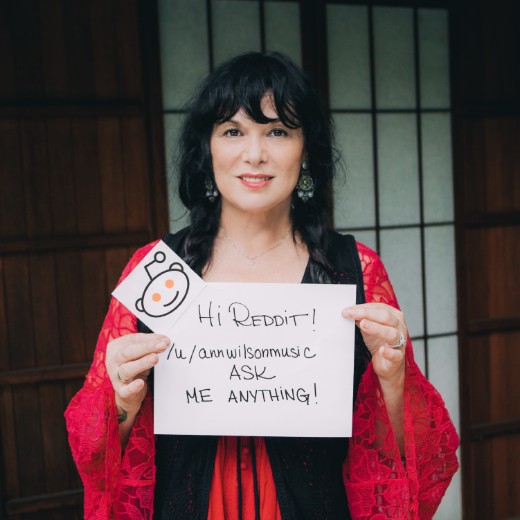 "Ann Wilson ""Ask Me Anything"""