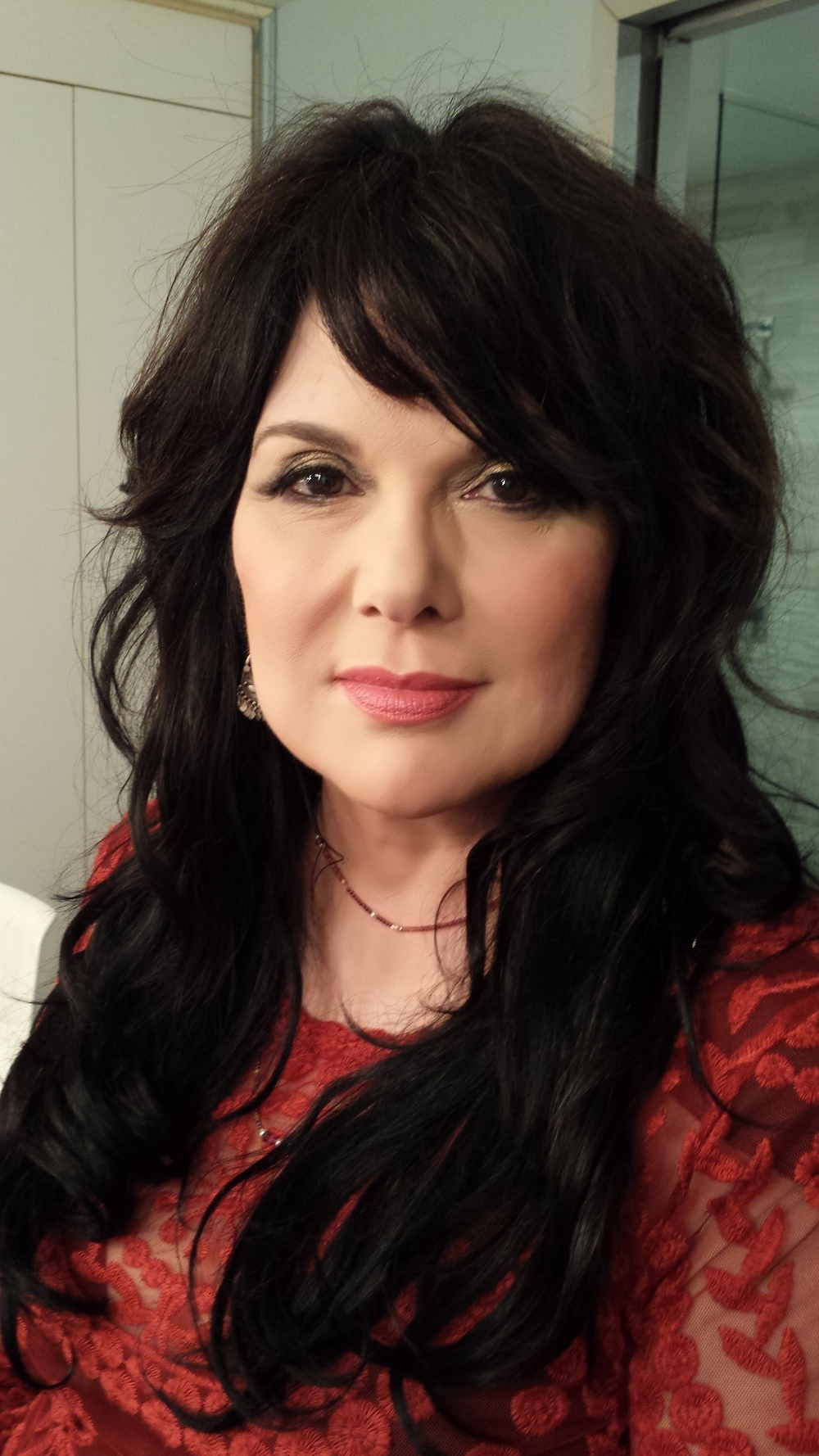 Ann Wilson before interview