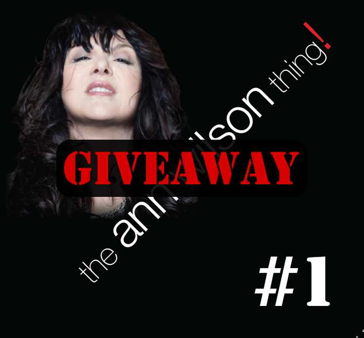 the ann wilson thing giveaway
