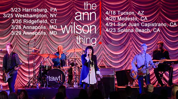 the ann wilson thing tour leg 1