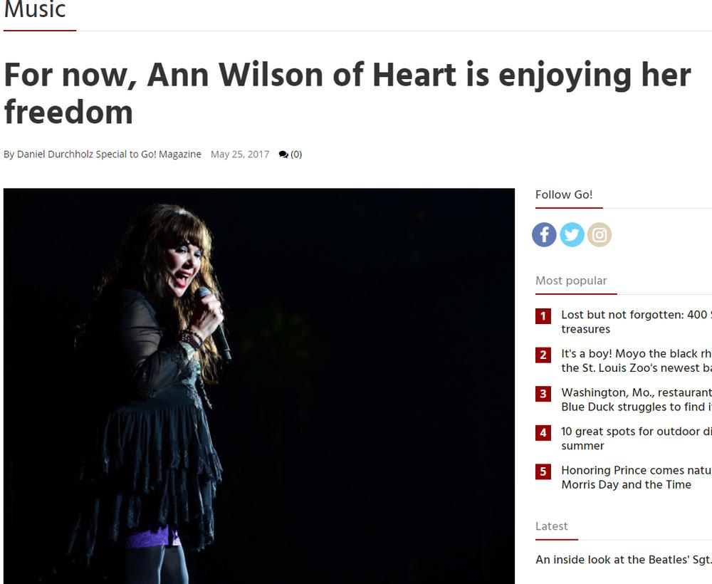 Ann Wilson Freedom