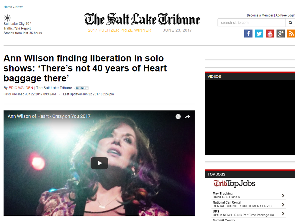 the tribune ann wilson