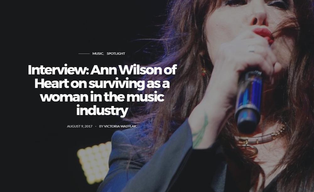 ann wilson interview