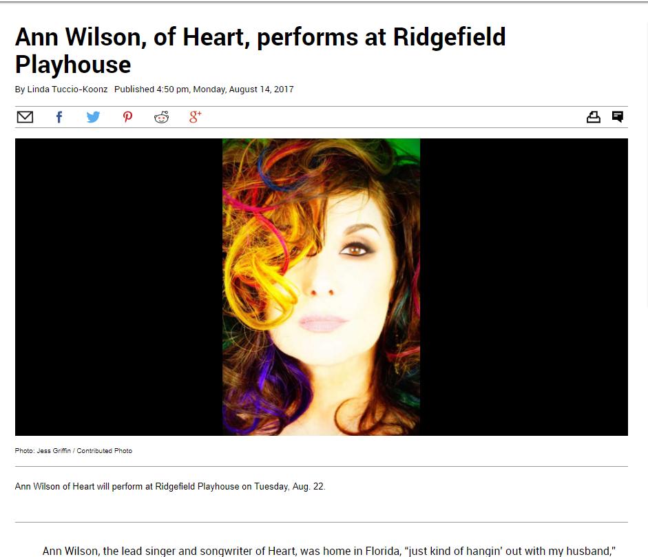 Ann Wilson Ridgefield CT