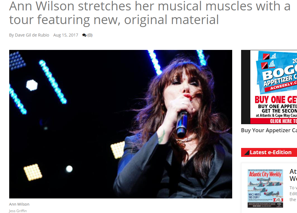 ann wilson stretching