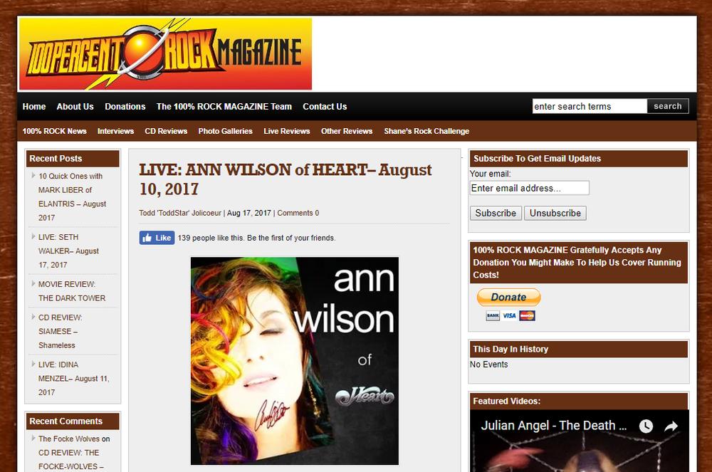 indie rock ann wilson