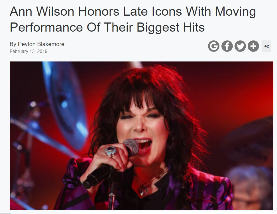 ann wilson of heart iheart icons