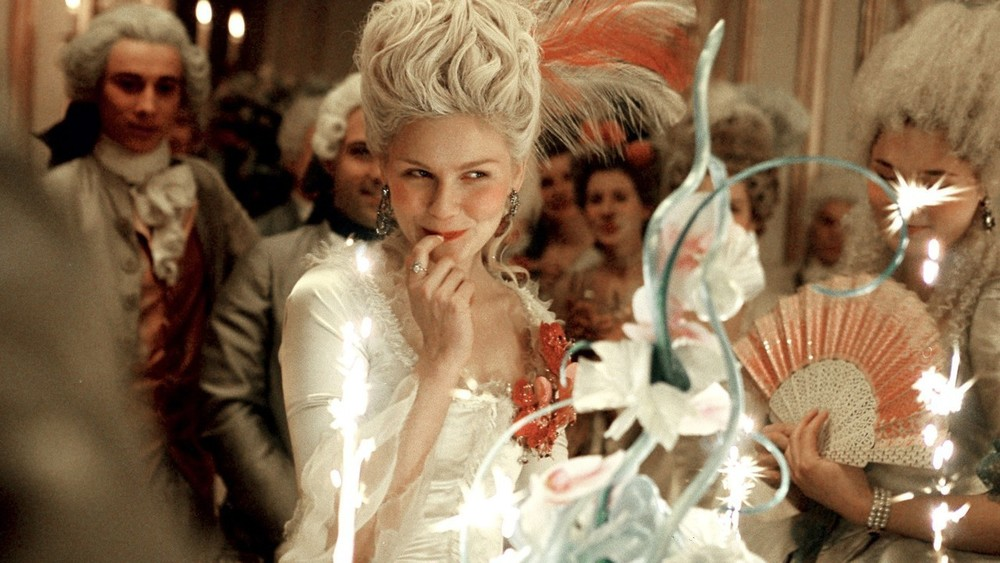 Let them eat cake...film still from Marie Antoinette